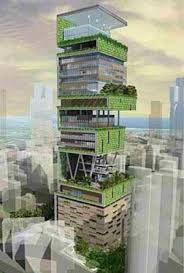Antilia 1 Billion The Most Expensive Residence Of World Is Located In Mumbai India And Belongs To Mukesh Ambani Worlds Fifth Richest