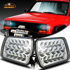 100 Trucks On Ebay DOT 2x New LED 5 X 7 LED Headlights Replacement For Jeep Cherokee