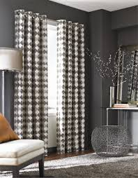 White And Gray Blackout Curtains by Black White Curtains Walmart Astounding Black And White Drapes