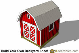 10x14 Garden Shed Plans by 10x14 Small Barn Shed Plans Gambrel Shed Plans