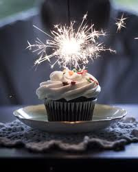 Birthday sparkler by Swilsonphotos
