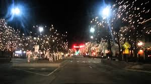 Holiday Light in Fort Collins Old Town