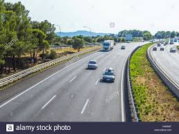 100 Free Cars And Trucks A Highway With Heavy Traffic With A Lot Of Cars And Trucks At High
