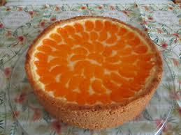 mandarinen schmand kuchen selbstgemacht lecker und frisch