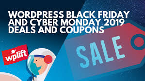 WordPress Black Friday And Cyber Monday 2019 Deals