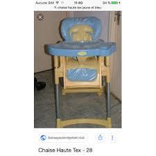 chaise haute comptine chaise haute occasion annonce d achat et vente