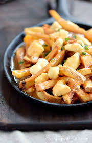 poutine cuisine canadian poutine cooking with curls
