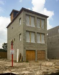 100 Concrete Residential Homes The New Block On A Fifth Ward Block By The