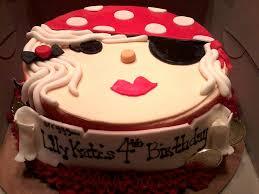 Girly Pirate Birthday Cake Specialty Cake Prices Vary