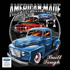 100 Built For Trucks D F1 Truck T Shirts American D Pickup Mens S To
