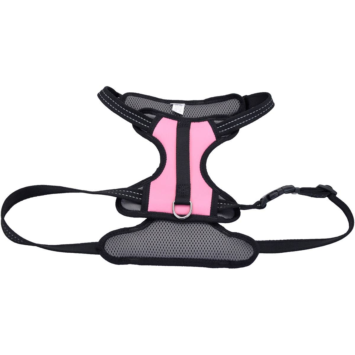 Coastal Pet Products Reflective Control Handle Harness-Pink Large