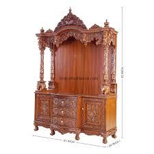 Kuber Industries Wooden Handicraft Radha Krishna Key Holder