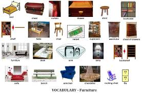 Names Of Bedroom Furniture In French Spanish Antique