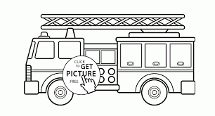 Fire Trucks Coloring Pages Save Beautiful Fire Truck Coloring Page ...