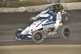 100 Timmons Truck Center Races To First Sprint Car Win At Bakersfield Speedway