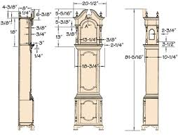 grandfather clock plans google search daddy u0027s favorite flowers