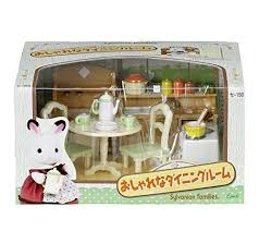 Sylvanian Families Room Set Stylish Dining Cell 150