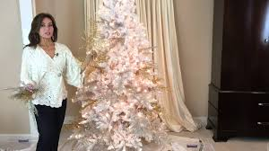 Bethlehem Lights Christmas Trees by The Secret It Took Me Years To Learn In Decorating A White Flocked
