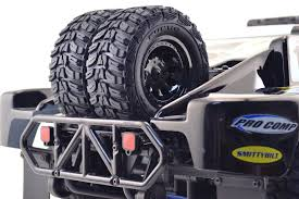 100 Semi Truck Spare Tire Carrier Dual For The Traxxas Slash 2wd
