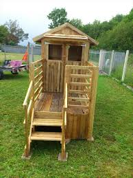 build easy diy playhouse from pallets pallet playhouse wooden