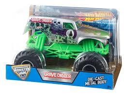 100 Hot Wheels Monster Truck Track Jam 124 Grave Digger Grim Popular 61226 61226