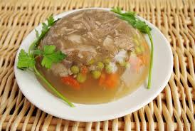 cuisine polonaise cuisine polonaise aspic de porc photo stock image du réception