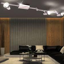 decken strahler beleuchtung spots leuchte schwenkbar le im set inklusive led leuchtmittel