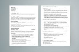 No Work Experience Sample Resume