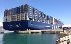 hollande à marseille pour inaugurer le plus gros porte containers