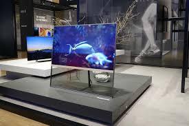 transparenter oled jetzt wird der fernseher durchsichtig