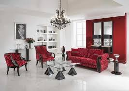 rot im wohnzimmer 15 originelle einrichtungsideen