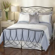 Wrought Iron King Headboard And Footboard by Wrought Iron Beds Pictured Here Is The Woodland Wrought Iron Bed