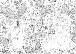 Fashion Coloring Book Hanbok Korean Costume Clothes Adult Gift Relax Art DIY Fun
