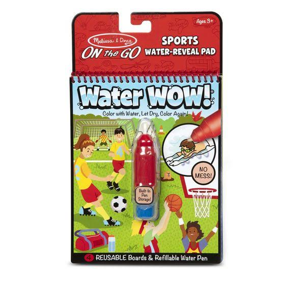 Melissa & Doug Water Wow! Sports Water Reveal Pad