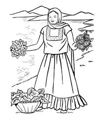 Mexican Christmas Coloring Pages 382