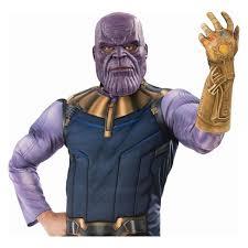Marvel Comics Thanos Shirt Avengers Infinity War Movie Costume MenS