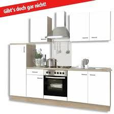 roller küchenblock biggi ohne geräte weiß matt 270 cm breit weiß
