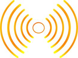 Sound waves clipart