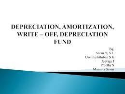 Sinking Fund Formula For Depreciation by Depreciation U0026 Amortisation