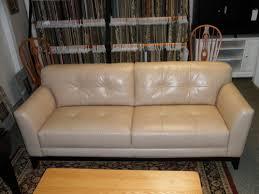 Dresser Hill Charlton Ma by Cream Leather Button Back Sofa Charlton Furniture