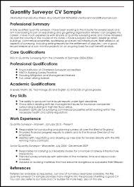 Resume Examples For Risk Management With Quantity Surveyor Sample Create Inspiring Objective