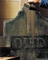 Diy Halloween Tombstones Plywood by Tombstone Yard Halloween Decorations Martha Stewart