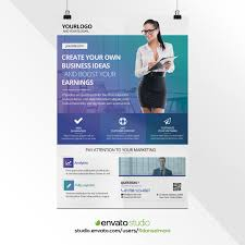 Professional Corporate Poster Design By Fidanselmani On Envato
