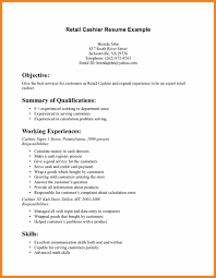 Objective For Resume Examples Retail Teller Sample On Sradd Me
