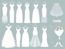 Wedding Clipart Wedding dress clipart Bridal Clipart Bride clipart Digital Bride Groom Clip Art Wedding ClipArt Digital Bride Clipart