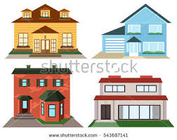 Images Front Views Of Houses by House Front View Stock Images Royalty Free Images Vectors