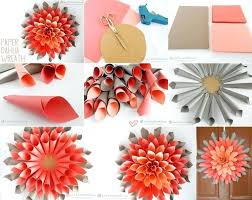 Paper Craft Work For Wall Decoration Astonishing Decor Classy Idea Intended