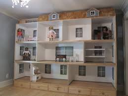 American Girl Doll house Natural Woodworks