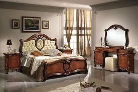 schlafzimmer komplett set 6tl nussbaumfarbe stil klassisch italienische möbel ebay