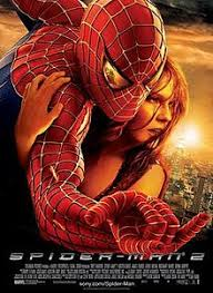 Against A New York City Background Spider Man Hugs Mary Jane Watson With